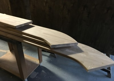 Oak Wood Milled Bartops 1