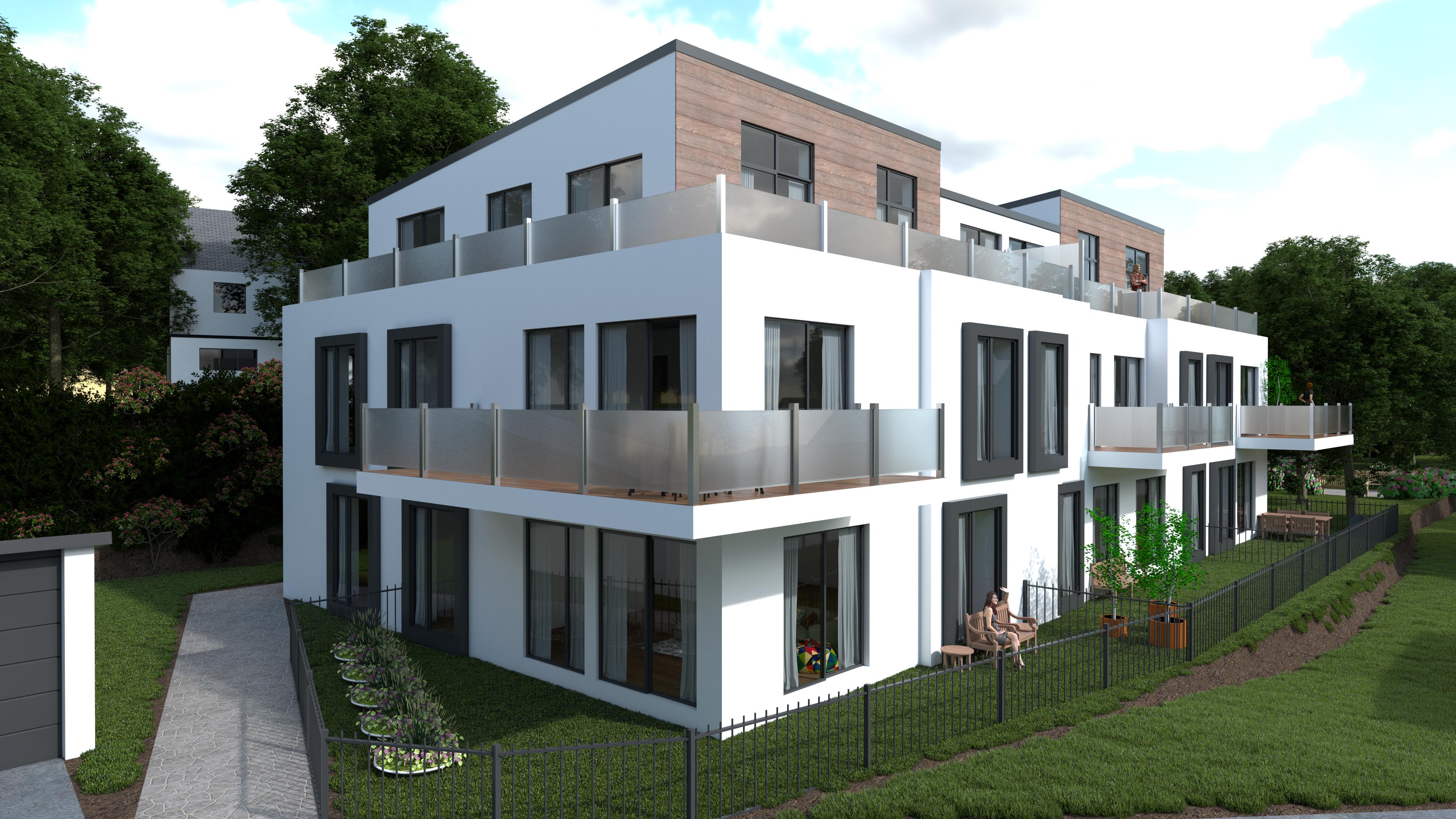 Appartementscomplex in Bochum, Duitsland